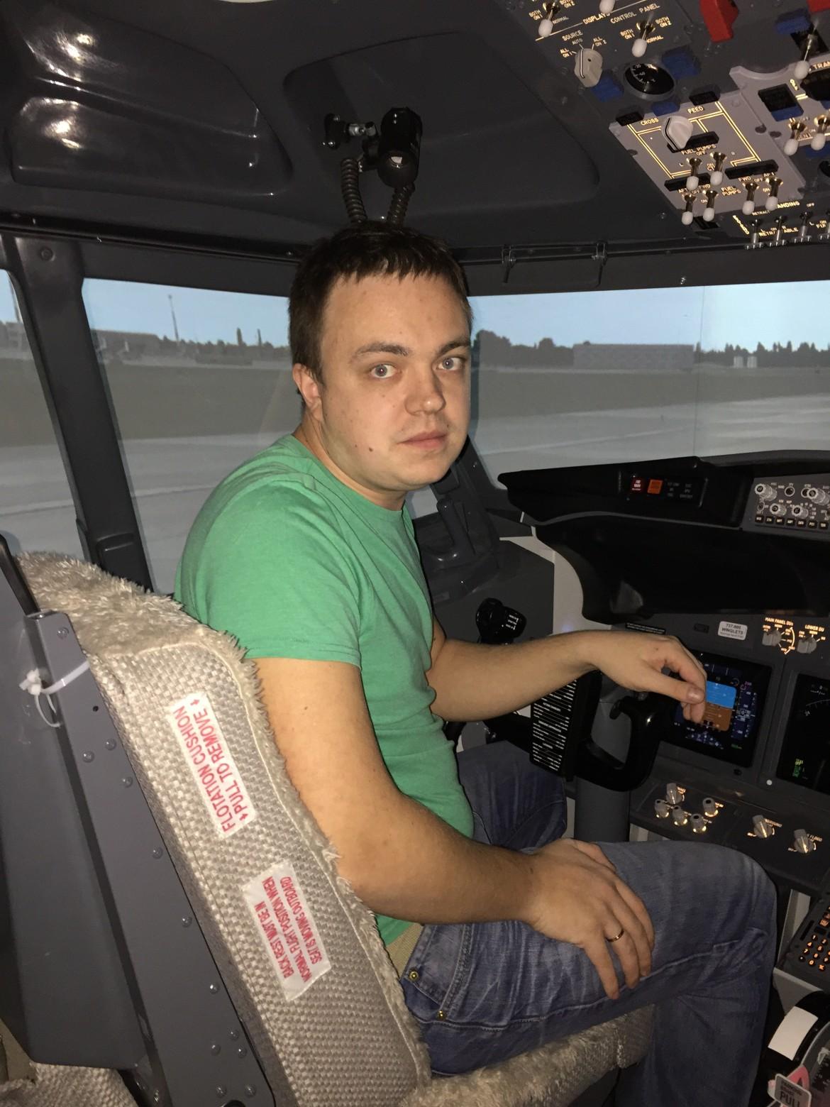 Мой первый полет